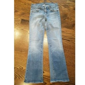 7 For All Mankind Blue Boot Cut Jeans 26